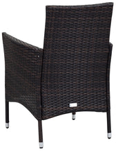 Load image into Gallery viewer, Safavieh Cooley Outdoor Contemporary Wicker 5 Piece Set with Cushion K7762