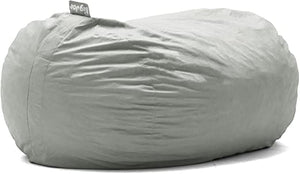 Big Joe Large Bean Bag Sofa, Fog (#K2492)