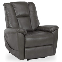 Load image into Gallery viewer, Ernie Power Lift Massage Recliner in Gray