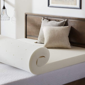 "4"" Ventilated Memory Foam Mattress Topper - King (#K2301)"