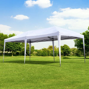 10' x 20' Steel Pop-Up Party Tent, White (#K2489)