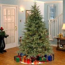 Load image into Gallery viewer, 6.5' Feel Real Fraser Grande Hinged Tree with 550 Dual Color LED Lights (#K6485)