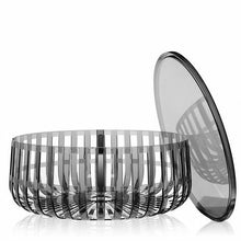 Load image into Gallery viewer, Kartell Panier Plastic/Acrylic Coffee Table, Dark Grey (#377)