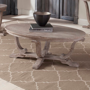 Adagio Trestle Coffee Table (#857)