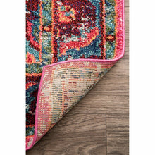 Load image into Gallery viewer, Aliyah Oriental Pink Area Rug 4 x 6'  LX5712