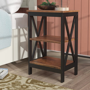 Brown Alonso Nightstand 7372
