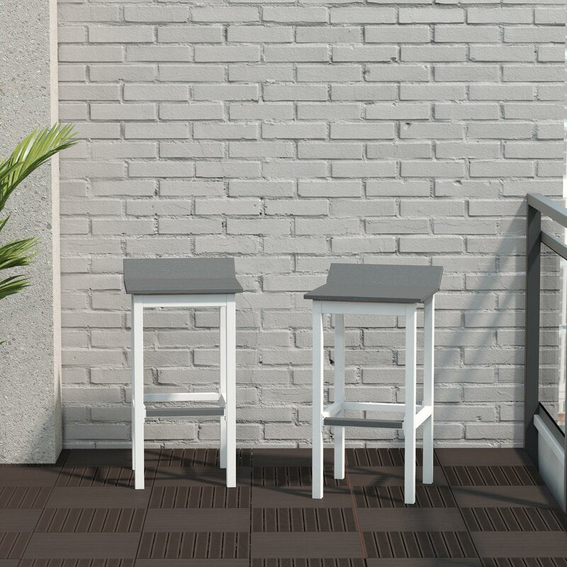 Ariesa Outdoor Patio Bar Stool (Set of 2)  Dr214