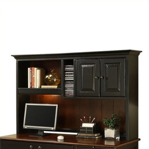 Riverside Furniture Bridgeport Hutch in Burnished Cherry