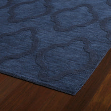 "Load image into Gallery viewer, Kaleen Imprints Modern Hand Tufted 9'6"" x 13'6"" Navy Rug ERUG259"