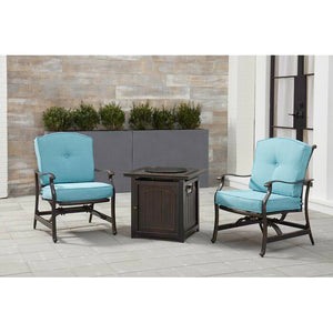 Set of 2 - Carleton Rockers with Cushions, Blue (#372)