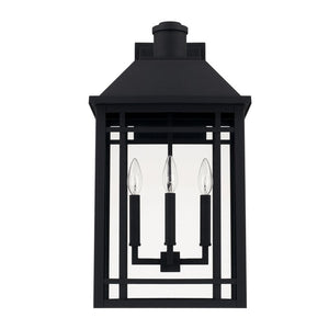 "Chad 3- Bulb 23"" H Hardwired Outdoor Wall Lantern CL379"