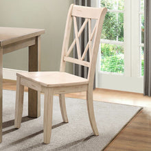 Load image into Gallery viewer, Set of 2 Cheryll Solid Wood White Dining Chair 2324