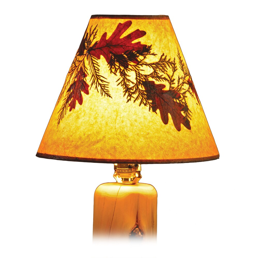 Cleary Paper Empire Lamp shade ( Screw on ) in Gold CL351