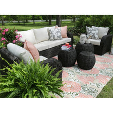 Load image into Gallery viewer, Cottleville 6 Piece Rattan Sofa Seating Group with Cushions