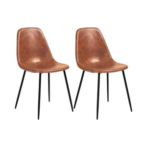 Set of 2 Upholstered Side Chair #LX3001