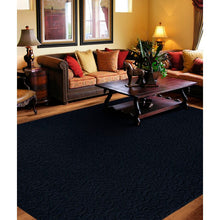 Load image into Gallery viewer, Edith Floral Tufted Navy Rug -  9' x 12' (#K2042)