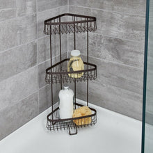 Load image into Gallery viewer, Eisenman Steel Free Standing Shower Caddy 7307