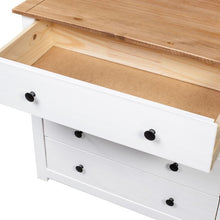 Load image into Gallery viewer, White Eloisa 4 Drawer Accent Chest #HA498
