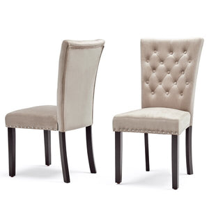 Erling Velvet Dining Chair (Set of 2) #LX3005