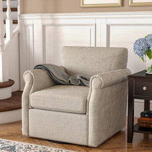 Evans Swivel Armchair #8034