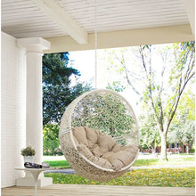 Load image into Gallery viewer, Bungalow Rose Wicker Porch Swing