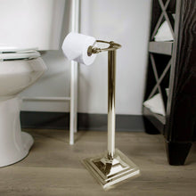 Load image into Gallery viewer, Brushed Nickel Free Square Base Toilet paper Holder K7721