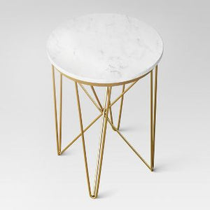 Lovel marble accent table Dr200