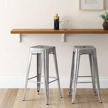 "Load image into Gallery viewer, 29"" metal bar stool Dr199"