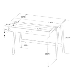 Paulo Writing Desk - #8495T