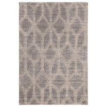 Load image into Gallery viewer, Gilchrist Geometric Handmade Flatweave Gray/Gold Area Rug 2' x 3' LX5558
