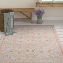 Load image into Gallery viewer, Griswald Oriental Pink Area Rug KRUG035