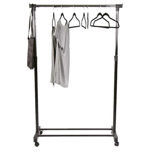 "Heavy Duty 33.75"" Clothing Garment Rack on Wheels (#557)"