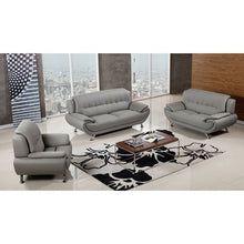 Load image into Gallery viewer, Hillsdale Modern Gray Sofa and Armchair Set