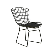 Load image into Gallery viewer, Set of 2 - Holly Wire Dining Chairs, Noir Black (#74)