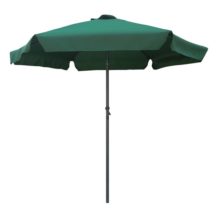 Hyperion 8' Beach Umbrella, Forest Green (#K2478)