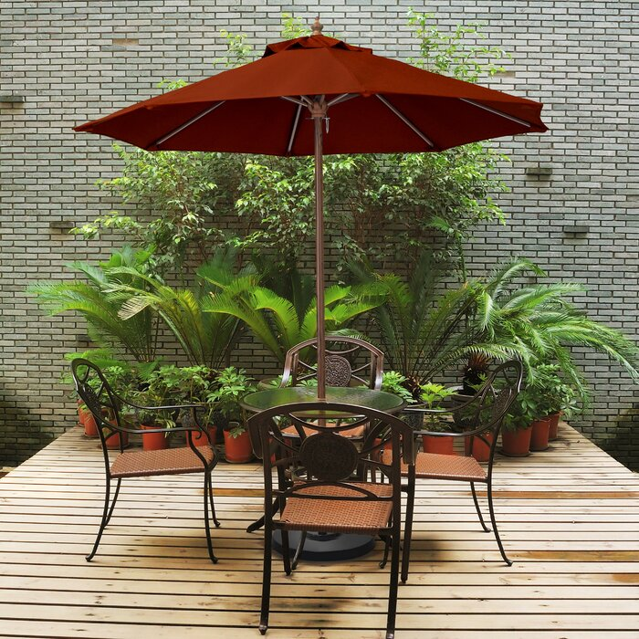 Jacksonport 9' Market Umbrella, Brick (#836)