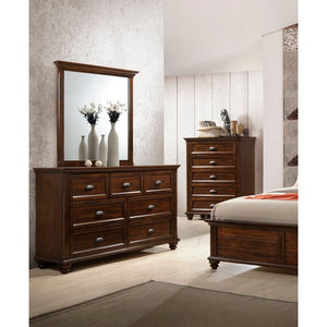 Kamarre Rectangular Dresser Mirror (#HA521)