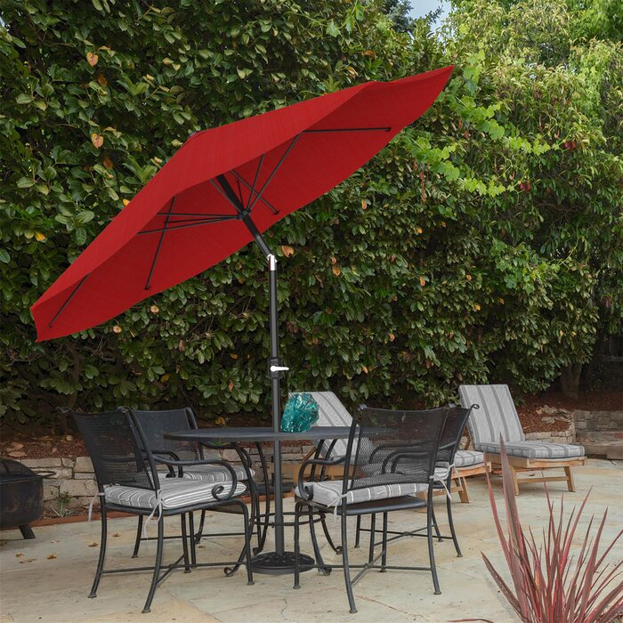 Kelton 10' Market Umbrella, Wine Red (#654)