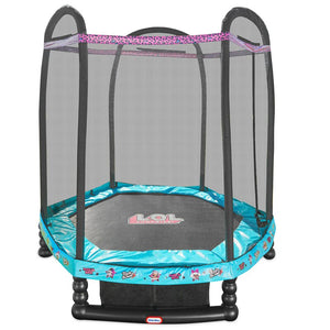 L.O.L. Surprise! 7.3' Octagon Trampoline with Safety Enclosure #HA45