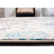 Load image into Gallery viewer, Katie Damask Cream/Light Gray Area Rug KRUG033