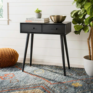 Lujan Console Table, Black (#106)