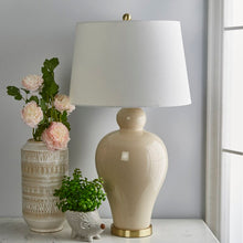 "Load image into Gallery viewer, Maryam Ceramic Urn 32"" Table Lamp 2300"