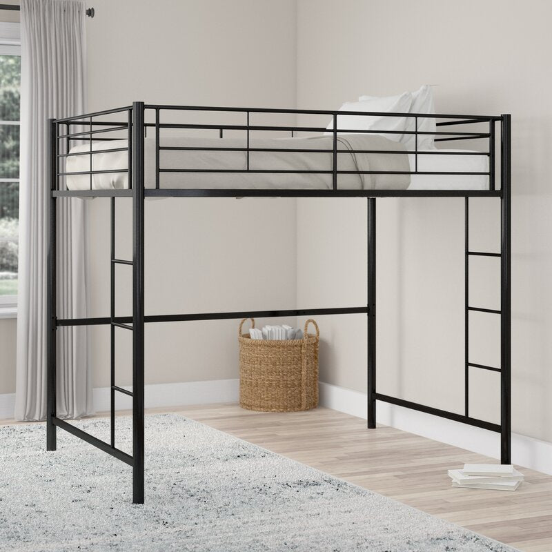 Maurice Full Metal Loft Bed By Viv Rae Ca474 Salvage Co Indy