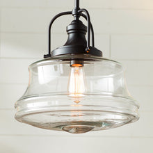 Load image into Gallery viewer, Nadine 1-Light Single Schoolhouse Pendant 7297