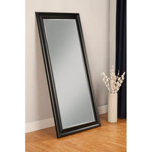 Load image into Gallery viewer, Northcutt Modern and Contemporary Beveled Full Length Mirror, Black (#K2204)