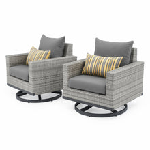 Load image into Gallery viewer, Milo™ Gray Motion Club Chairs - Charcoal Gray