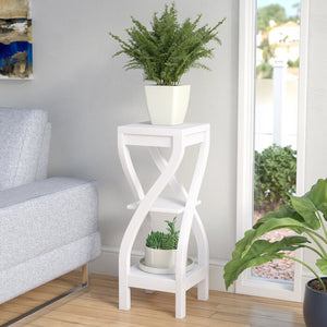 Orionis Etagere Plant Stand, White #HA87