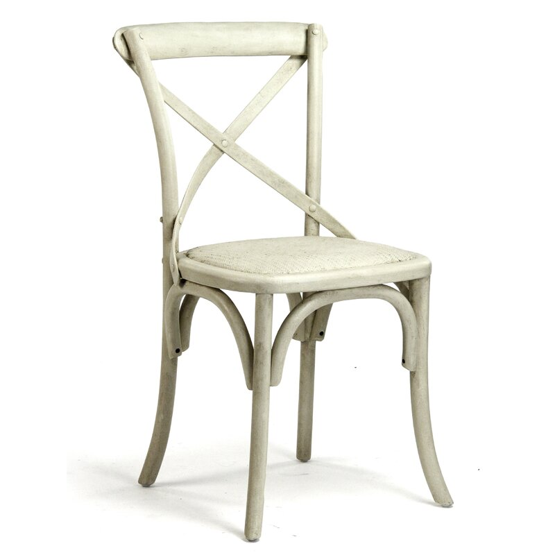 Set of 2 Parisienne Cafe Solid Wood Dining Chair 2334