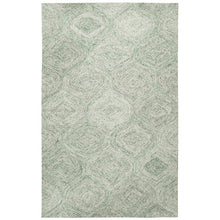Load image into Gallery viewer, Pershing Hand-Tufted Wool Green Area Rug KRUG037