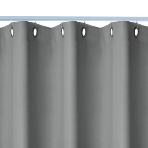 "Premium Heavyweight Ceiling Track Room Divider, Slate Grey - 96"" x 36"" - 54"" (#693)"